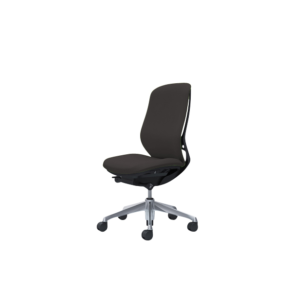 オフィスチェア デスクチェア オカムラ シルフィー 肘なし 背クッション ハイ C637BRFXW3 ダークブラウン ワークチェア パソコンチェア 事務椅子 イス おしゃれ 在宅ワーク テレワーク 在宅勤務 リモートワーク