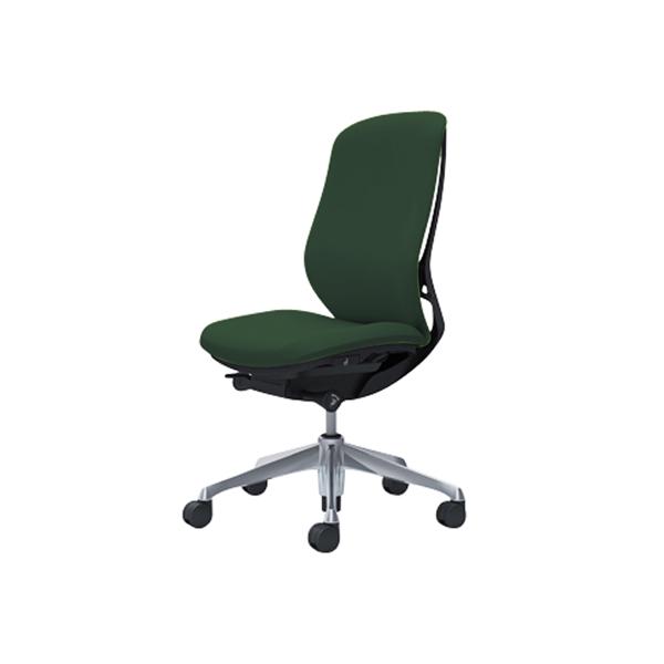 オフィスチェア デスクチェア オカムラ シルフィー 肘なし 背クッション ハイ C637BRFXW5 ダークグリーン ワークチェア パソコンチェア 事務椅子 イス おしゃれ 在宅ワーク テレワーク 在宅勤務 リモートワーク
