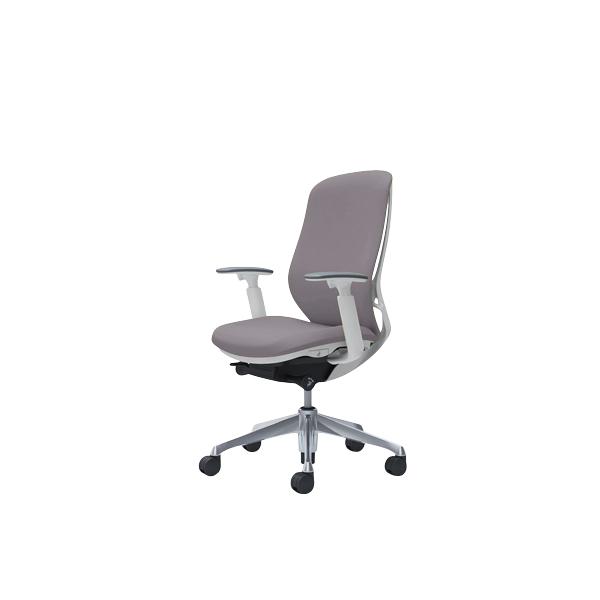オフィスチェア デスクチェア オカムラ シルフィー 可動肘 背クッション ハイ C687BWFXW1 グレー ワークチェア パソコンチェア 事務椅子 イス おしゃれ 在宅ワーク テレワーク 在宅勤務 リモートワーク