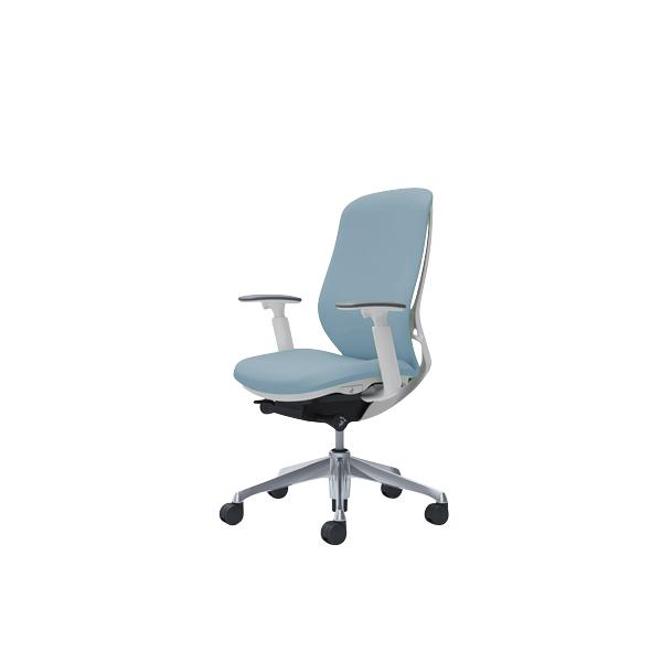 オフィスチェア デスクチェア オカムラ シルフィー 可動肘 背クッション ハイ C687BWFXW9 セージ ワークチェア パソコンチェア 事務椅子 イス おしゃれ 在宅ワーク テレワーク 在宅勤務 リモートワーク