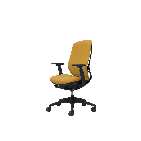 オフィスチェア デスクチェア オカムラ シルフィー 可動肘 背クッション ハイ C687XRFXW7 イエロー ワークチェア パソコンチェア 事務椅子 イス おしゃれ 在宅ワーク テレワーク 在宅勤務 リモートワーク