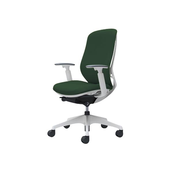 オフィスチェア デスクチェア オカムラ シルフィー 可動肘 背クッション ハイ C687XWFXW5 ダークグリーン ワークチェア パソコンチェア 事務椅子 イス おしゃれ 在宅ワーク テレワーク 在宅勤務 リモートワーク