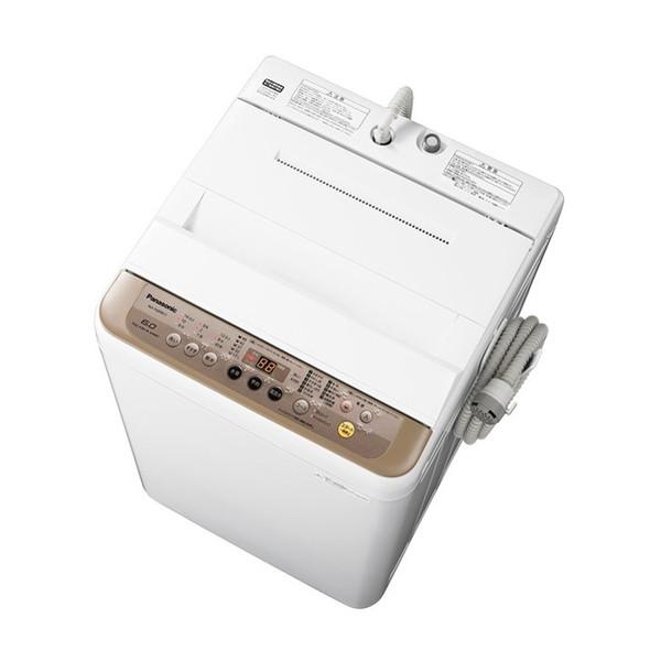 【送料無料】PANASONIC NA-F60PB11 ブラウン [全自動洗濯機 (洗濯6.0kg)]
