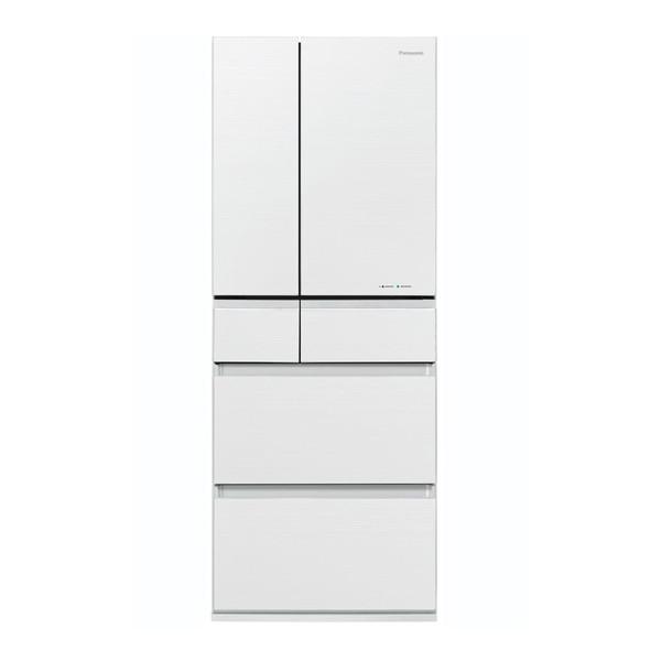 【送料無料】PANASONIC NR-F453HPX-W マチュアホワイト [冷蔵庫(450L・フレンチドア)]