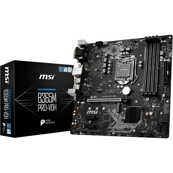 MSI B365M PRO-VDH [micro-ATX対応マザーボード]