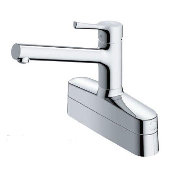 TOTO TKS05319J GGシリーズ [キッチン水栓金具/台付シングル混合水栓(エコシングル、湯水分岐口付、取替用)]