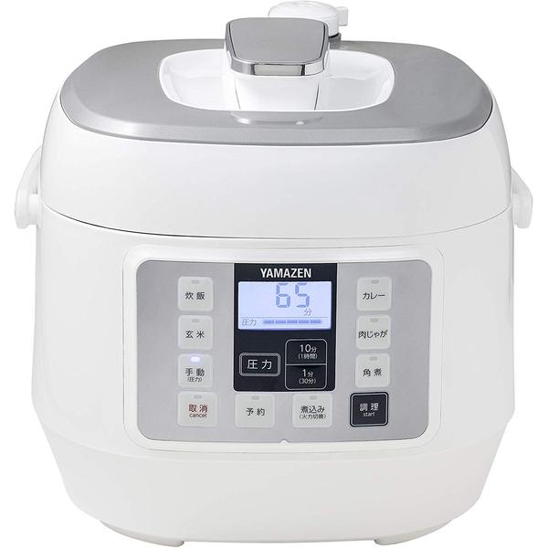 山善 YPCA-M250 ホワイト [マイコン電気圧力鍋]