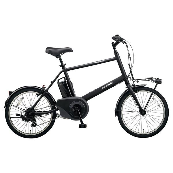 PANASONIC BE-ELVS072-B ミッドナイトブラック ベロスター・ミニ [電動アシスト自転車(20インチ・外装7段変速)]【同梱配送不可】【代引き・後払い決済不可】【本州以外配送不可】