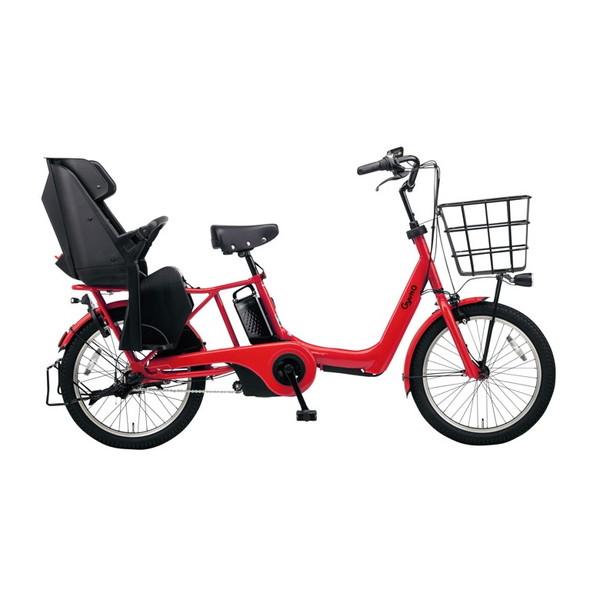 PANASONIC BE-ELAD032-R ロイヤルレッド ギュット・アニーズ・DX [電動アシスト自転車(20インチ・内装3段変速)] メーカー直送