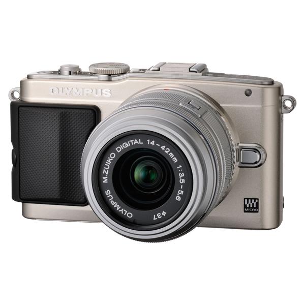 OLYMPUS PEN Lite E-PL5 レンズキット シルバー [デジタル一眼カメラ (1605万画素)]