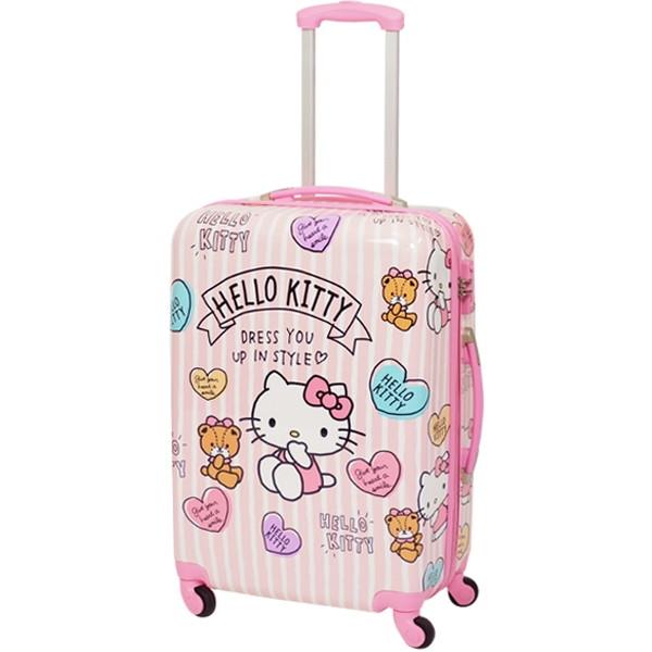 SIS HK-SUC-01-M1 ピンク Hello Kitty(ハローキティ) [4輪スーツケース(Mサイズ・60L)]