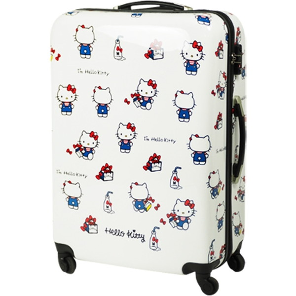 SIS HK-SUC-01-L2 ホワイト Hello Kitty(ハローキティ) [スーツケース(Lサイズ・90L)]