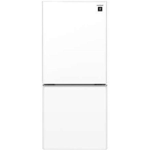 SHARP SJ-GD14F-W クリアホワイト] [2ドア冷蔵庫(137L・左右フリー)]