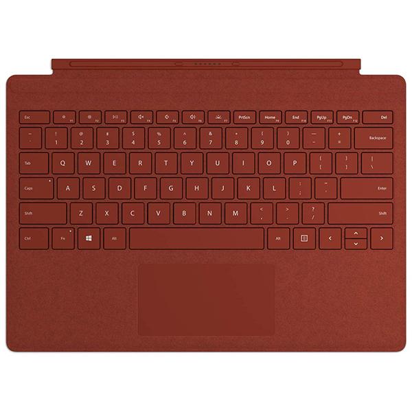 洗練されたスタイル 使いやすさ 保障 Alcantara製生地を使用したタイプカバーで 毎日のパソコンライフを豊かにしましょう マイクロソフト surface タイプカバー 日本語配列 FFP-00119 ポピーレッド Surface 4 キーボード 3 Pro 6用〕 7 第5世代 カバー 〔Surface 爆買いセール Signature