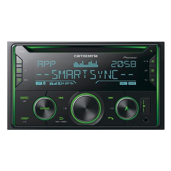 「スマホアプリ(カーナビ、音楽など)」と「カーオーディオの操作性」がリンクする PIONEER FH-4600 [CD/Bluetooth/USB/チューナー・DSPメインユニット]