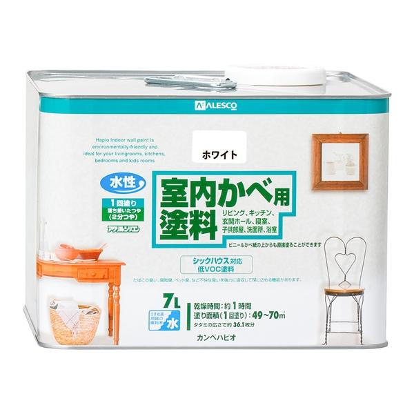 カンペハピオ 室内かべ用塗料 ホワイト 7L