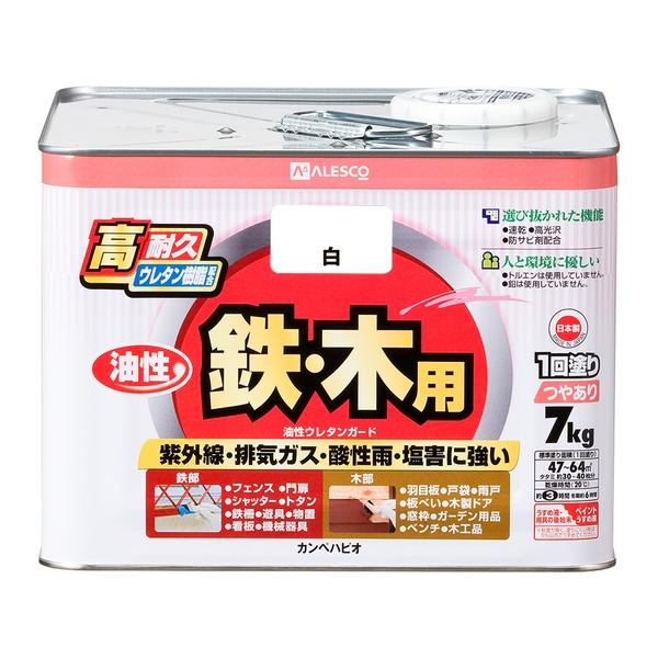 カンペハピオ 油性ウレタンガード 油性ウレタンガード 白 7k
