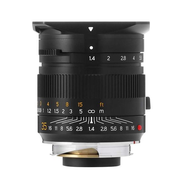 TTArtisan M35mm f/1.4・ASPH (B) ブラック [カメラ用交換レンズ(ライカ M)]