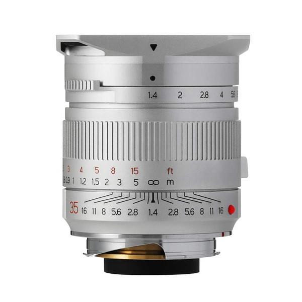 TTArtisan M35mm f/1.4・ASPH (S) シルバー [カメラ用交換レンズ(ライカ M)]