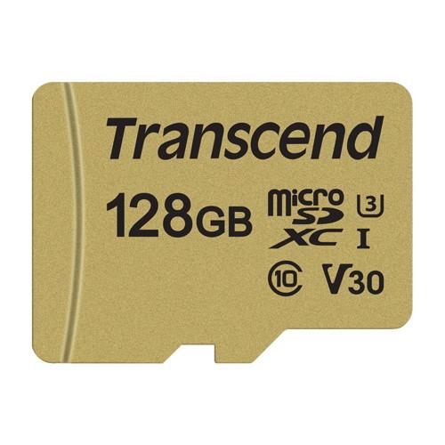 トランセンド TS128GUSD500S [microSDXCメモリーカード 128GB]
