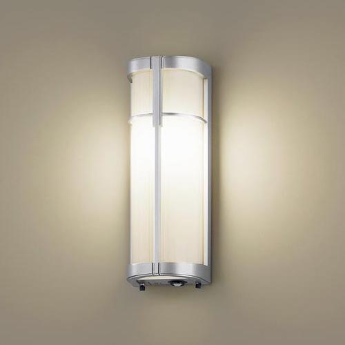 PANASONIC LGWC85023SF シルバーメタリック [LEDポーチライト(電球色) 防雨型 センサ付]