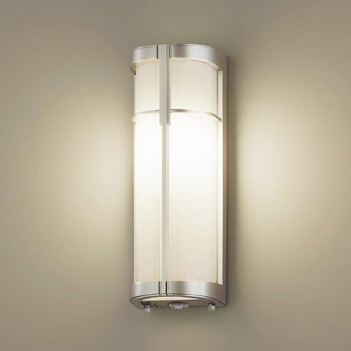 PANASONIC LGWC85023YF プラチナメタリック [LEDポーチライト(電球色) 防雨型 センサ付]