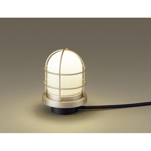 PANASONIC LGW45810Z プラチナメタリック [LEDアプローチスタンド(電球色) 防雨型]