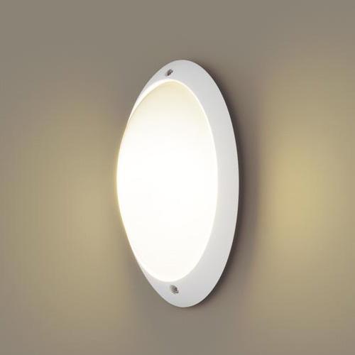 PANASONIC LGW85055WZ ホワイト [LEDポーチライト(電球色) 防雨型 塩害地向け]