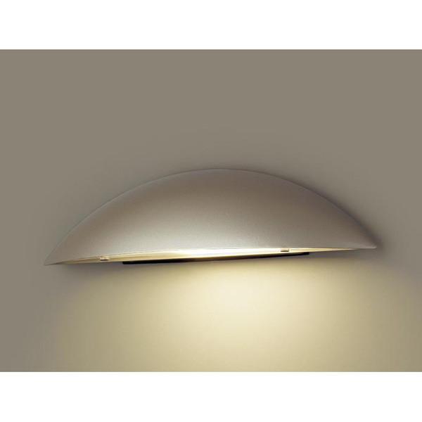 PANASONIC LGW85100YZ プラチナメタリック [LED表札灯(電球色) 防雨型]