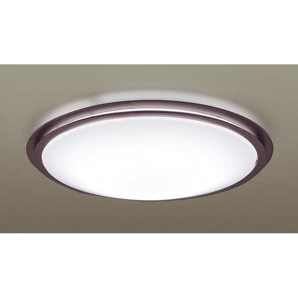 PANASONIC LGBZ0562 ウォールナット調 [LEDシーリングライト(~6畳/調色・調光) リモコン付き]