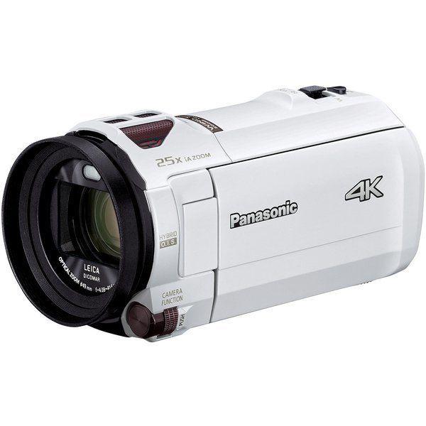 PANASONIC HC-VX992M-W ピュアホワイト [デジタル4Kビデオカメラ (64GB内蔵メモリー)]