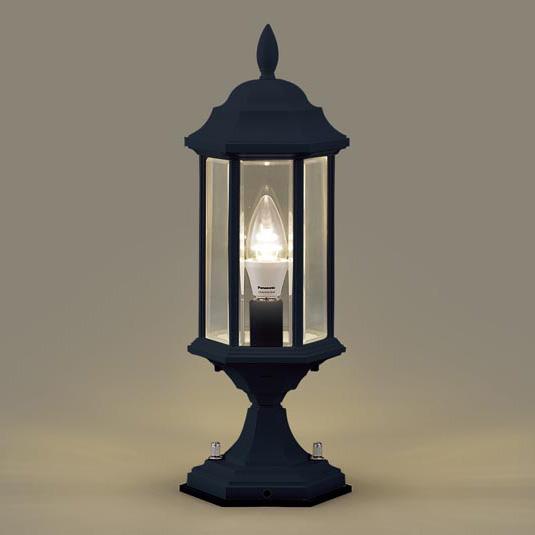 PANASONIC LGW56905B オフブラック [LED門柱灯(電球色) 防雨型]
