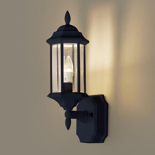 PANASONIC LGW85205B オフブラック [LEDポーチライト(電球色) 防雨型]