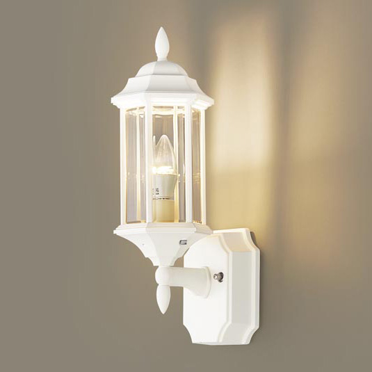 PANASONIC LGW85205W ホワイト [LEDポーチライト(電球色) 防雨型]