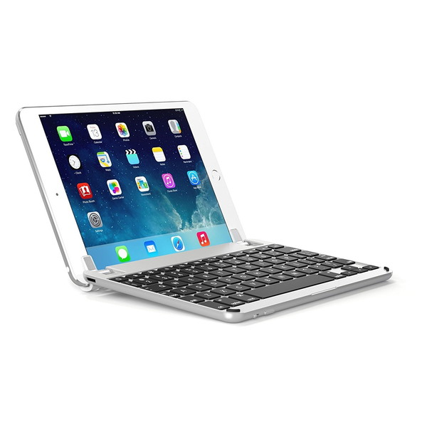 【送料無料】BRYDGE BRY5101 シルバー [Bluetoothキーボード(iPad mini 4対応 7.9インチ用ケース一体型)]