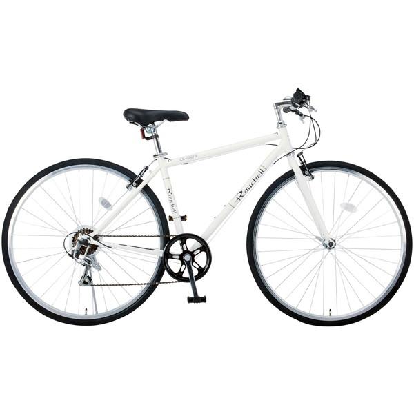 【送料無料】Raychell CR-7007R ホワイト (35653) [クロスバイク (700×28C・シマノ7段変速)]【同梱配送不可】【代引き不可】【沖縄・離島配送不可】