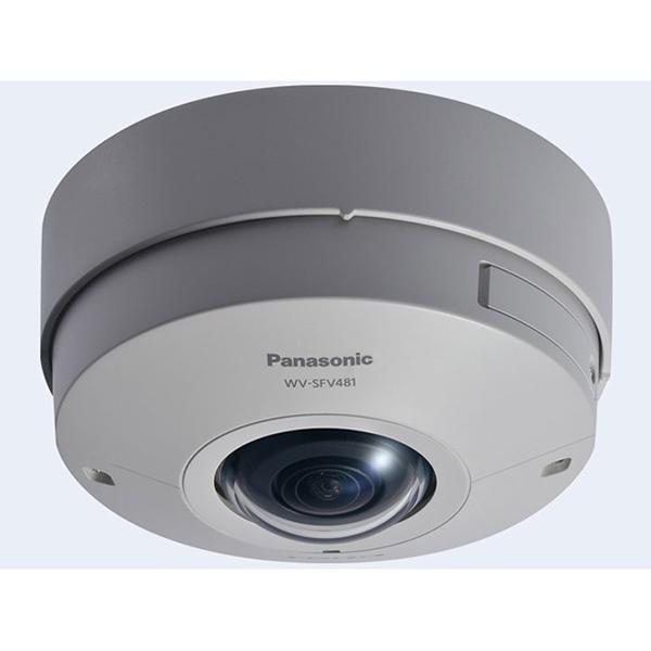 【送料無料】PANASONIC WV-SFV481 アイプロシリーズ [9M 全方位ネットワークカメラ 屋外タイプ]