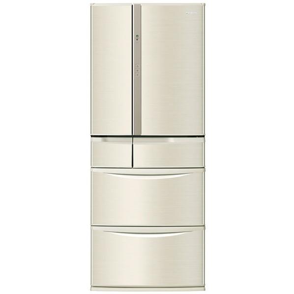 【送料無料】PANASONIC NR-F473V シャンパンゴールド Vタイプ [冷蔵庫 (470L・フレンチドア)]
