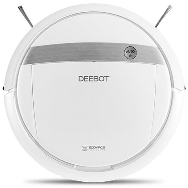 【送料無料】 ロボット掃除機 掃除機 床用 エコバックス DM88 モップ付き 自動掃除機 DEEBOT ECOVACS 水拭き から拭き 拭き 掃除 スマホ対応 センサー感知 アプリ リモコン付き フローリング ペット 自動充電 おしゃれ