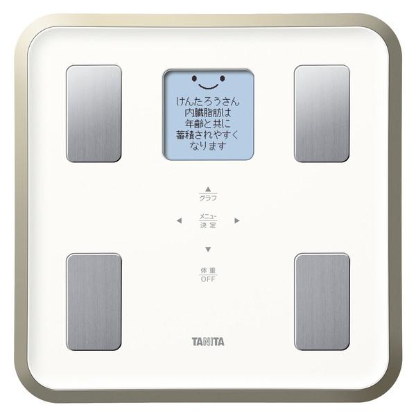 【送料無料】TANITA BC-810-WH ホワイト [体組成計] BC810WH