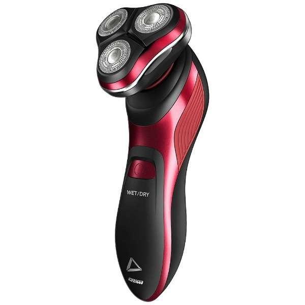 【送料無料】イズミ(IZUMI) IZR-N1261-R レッド デルタ [シェーバー(回転刃 国内・海外兼用)] 3Dフレックスヘッド 防水(IPX7) 水洗い・丸洗い可能 お風呂剃り対応 IZRN1261R