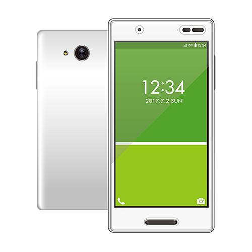 au Qua phone QX用の液晶画面をキズや汚れから守る、指紋防止タイプの反射防止フィルムです。 ELECOM PA-KYV42FLFT [au Qua phone QX 反射防止 防指紋 液晶保護フィルム]