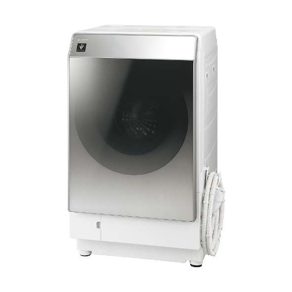 【送料無料】【標準設置料金込】洗濯乾燥機 ドラム式 (洗濯11.0kg/乾燥6.0kg) シャープ(SHARP) ES-P110-SR シルバー系 右開き 操作がかんたん光るタッチナビ マイクロ高圧洗浄 ハイブリッド乾燥方式「ぽかぽかおひさま乾燥」
