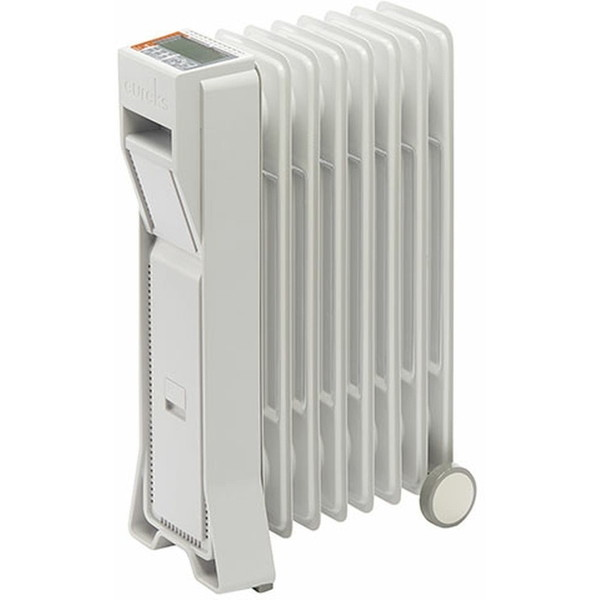 【送料無料】eureks LFX8BH(IW) アイボリーホワイト LFXシリーズ [オイルヒーター(木造3畳/コンクリ8畳)]