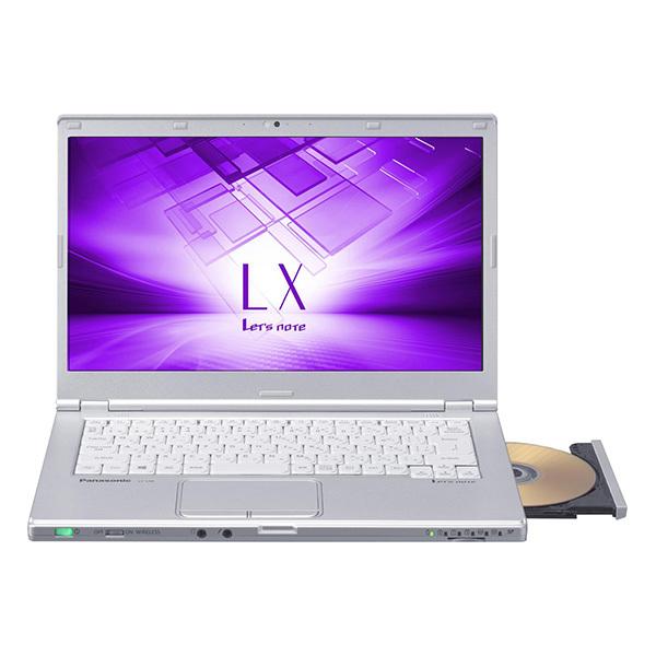 """PANASONIC CF-LX6RDGVS Let""""s note LX6 [ノートパソコン 14型ワイド液晶 SSD256GB DVDスーパーマルチドライブ]"""