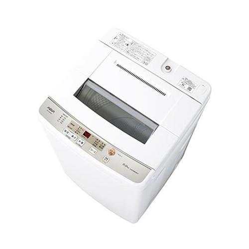 AQUA AQW-S60H ホワイト [簡易乾燥機能付き洗濯乾燥機 (6.0kg)]