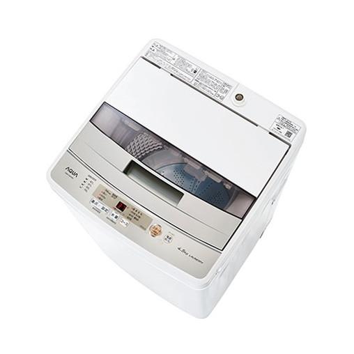 AQUA AQW-S45H ホワイト [簡易乾燥機能付き洗濯乾燥機 (4.5kg)]