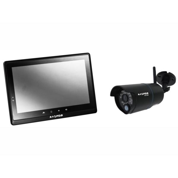 MASPRO WHC10M2 ブラック [モニター&ワイヤレスフルHDカメラセット] マスプロ モニタ フルハイ hdmi