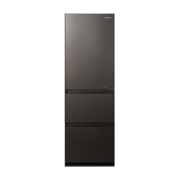 PANASONIC NR-C371GN-T ダークブラウン [冷蔵庫 (365L・右開き)]【代引き・後払い決済不可】