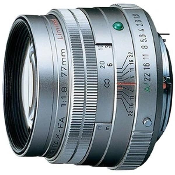 PENTAX FA77mmF1.8リミテッド シルバー [カメラ用交換レンズ(ペンタックスKマウント系)]